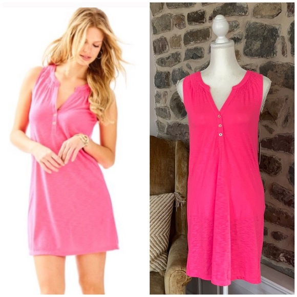 Lilly Pulitzer essie pink fusion dress small